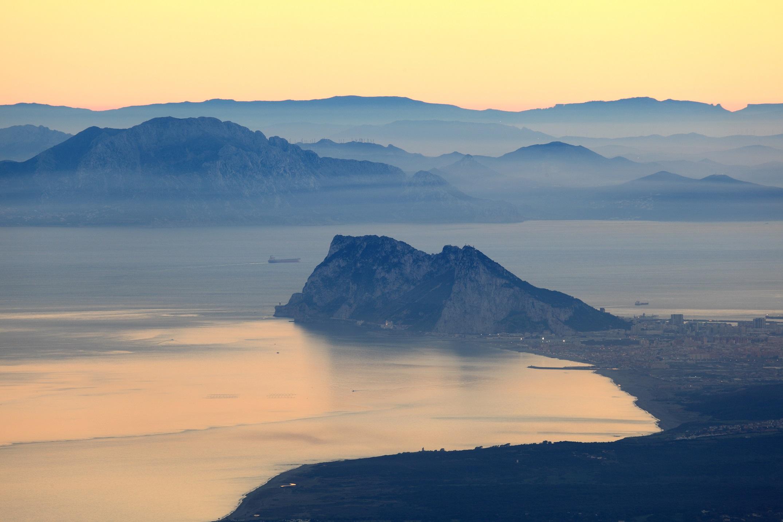 Альборан Gibraltar y Africa