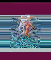logo Sancti Petri бог Мелькарт
