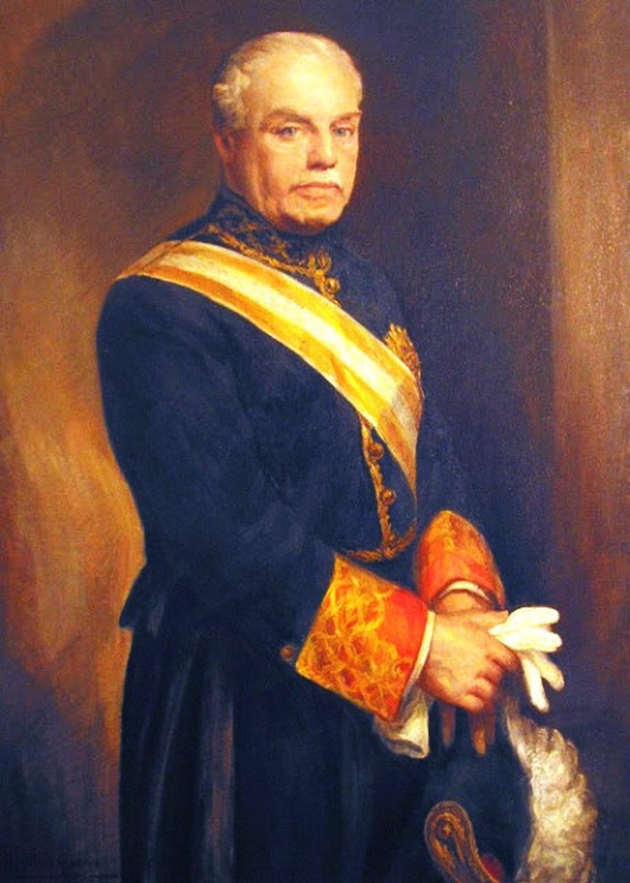 Rafael Benjumea y Burín, Conde de Guadalhorce. Galería de retratos de presidentes de Renfe. Fundación de los Ferrocarriles Españoles