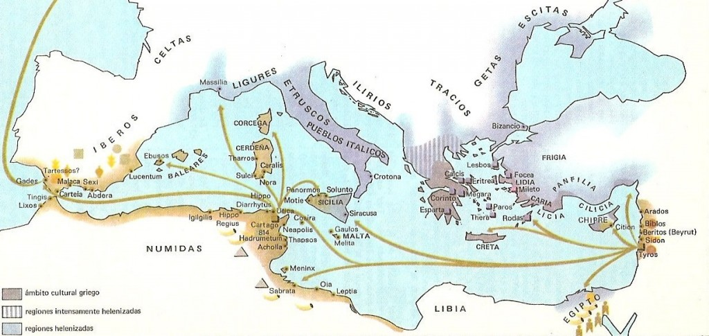 греки финикийцы - открыватели новых земель